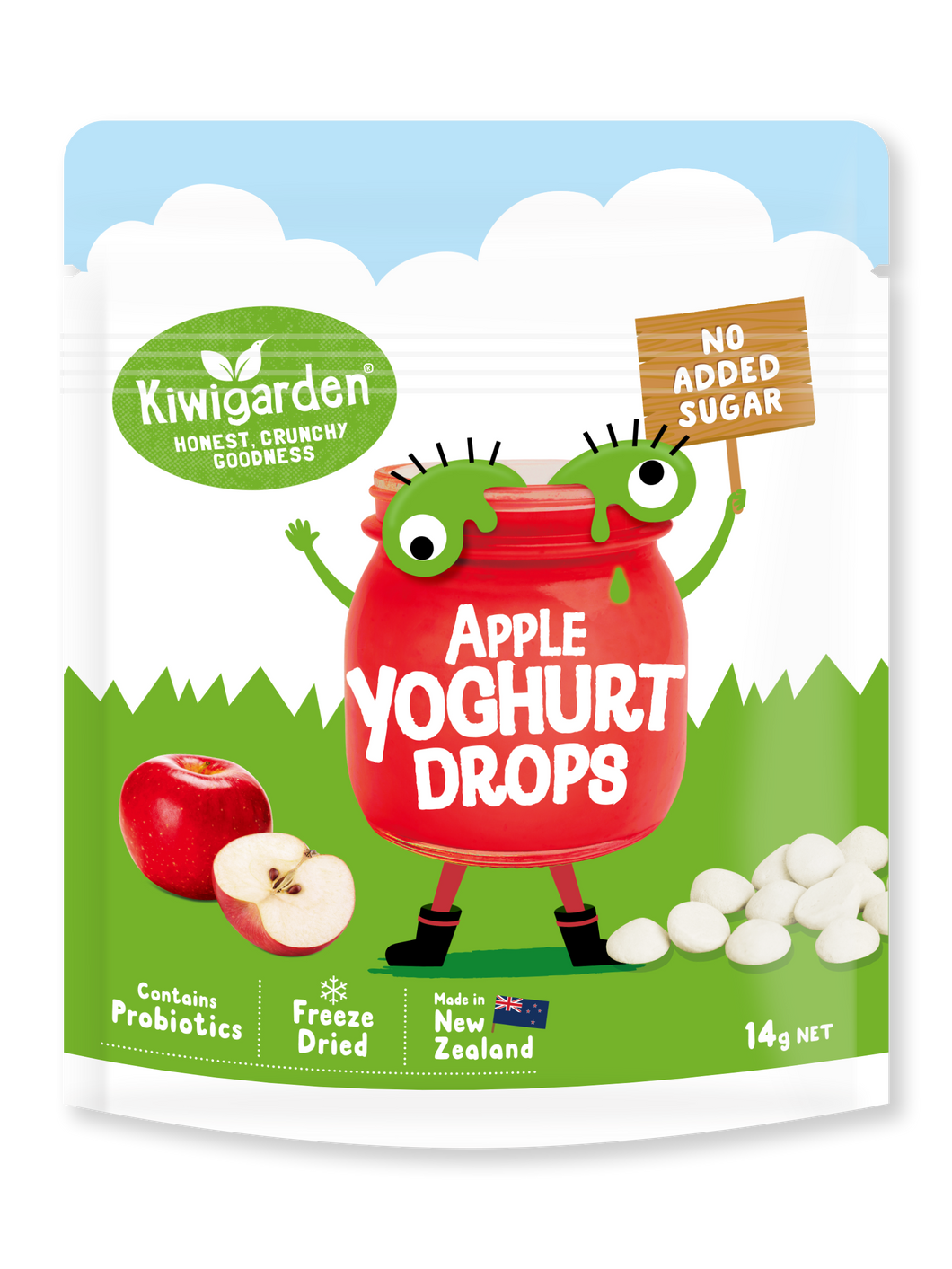 Apple Yoghurt Drops 14g - No added sugar