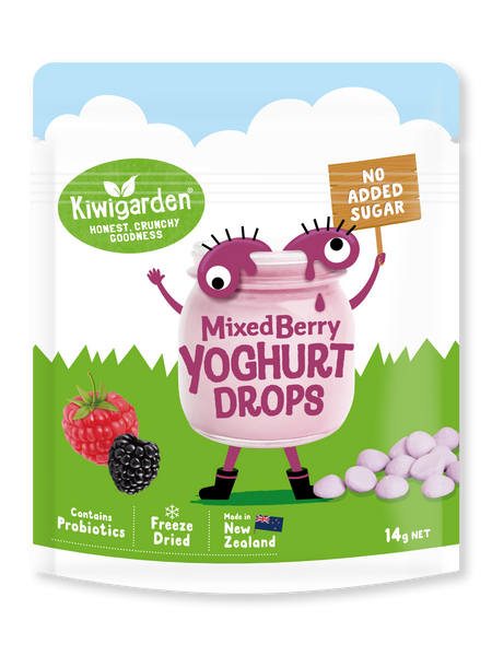 Mixed Berry Yoghurt Drops 14g - No added sugar