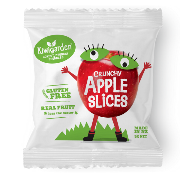 Crunchy apple slices 9g