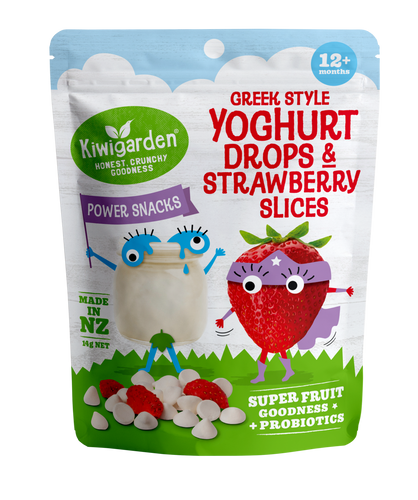Yoghurt & Sliced Strawberry 14g