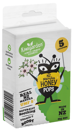 NZ Manuka Honey Pops with Vitamin C Boost