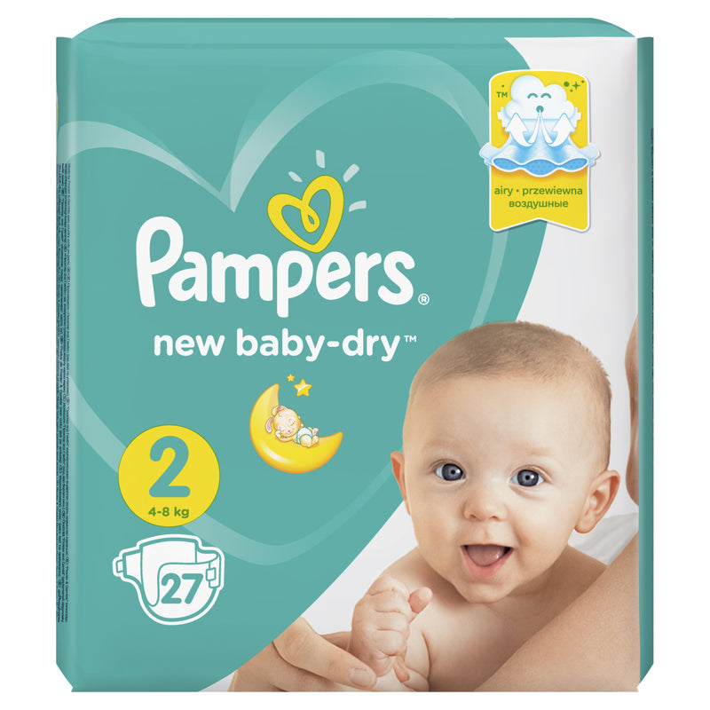 PAMPERS Active Baby Живх №2 (4-8кг)