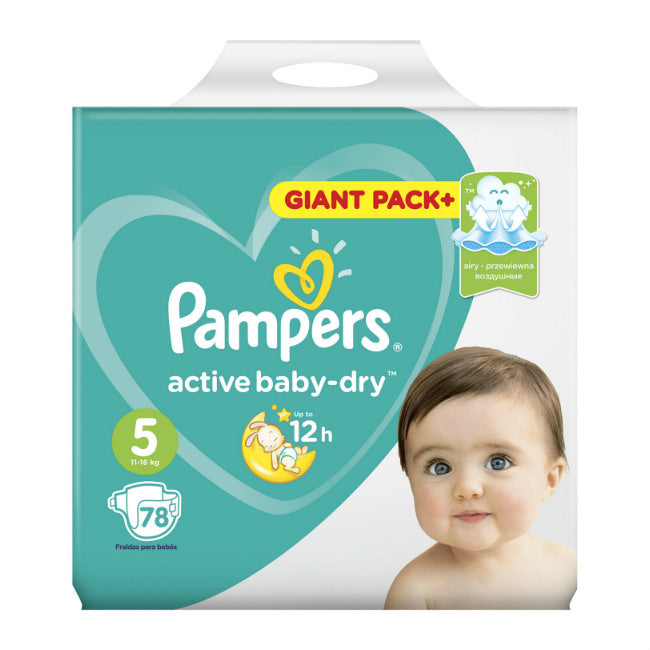 PAMPERS Active Baby Живх №5 (11-18кг)