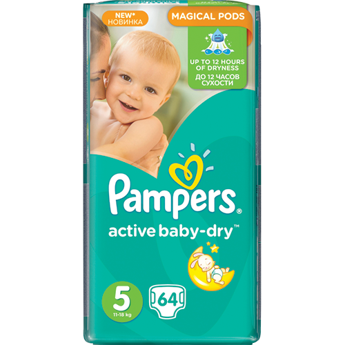 Copy of PAMPERS Active Baby Живх №5 (11-18кг) /2 төрөл/