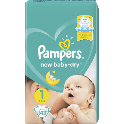 PAMPERS Active Baby Живх №1 (2-5кг)   -2 төрөл