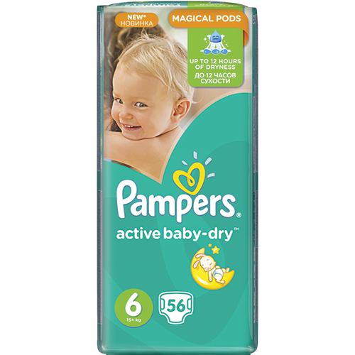 PAMPERS Active Baby Живх №6 (15кг -аас дээш)