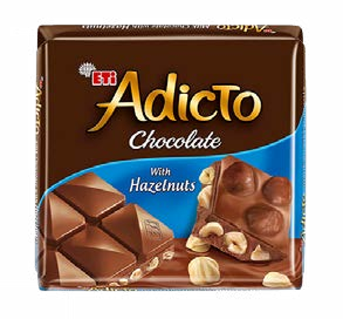 Adicto Chocolate Milk Chocolate Hazelnut 70gr