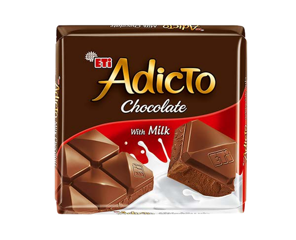 Adicto Chocolate Milk Chocolate 70gr