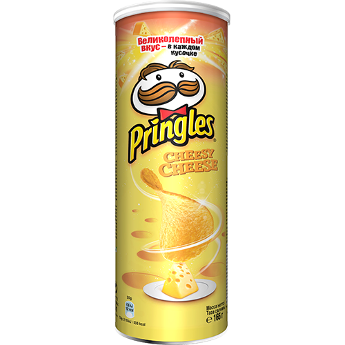 PRINGLES Cheesy cheese Чипс