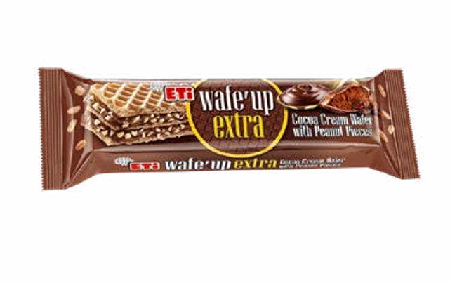Wafe Up Extra Cocoa Wafer Peanut Pieces 29gr