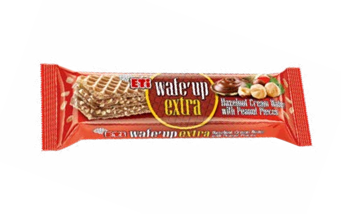 Wafe'Up Extra Hazelnut Cream Wafer Peanut Pieces 29gr
