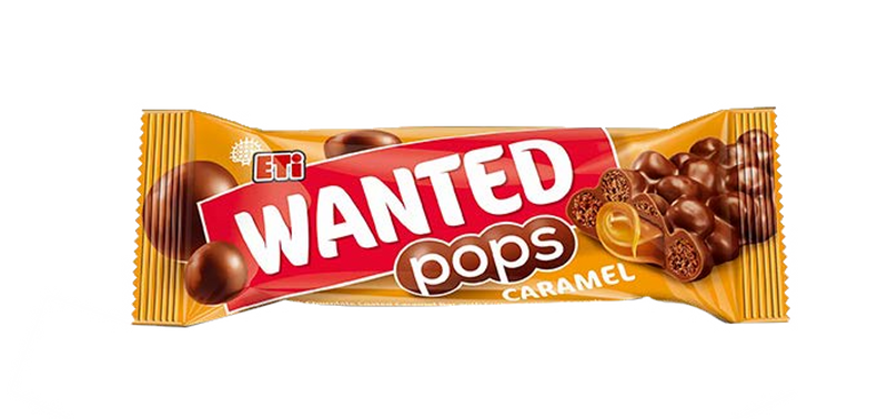 Wanted Pops Milk Chocolat- Corn and Wheat Cereals 28g