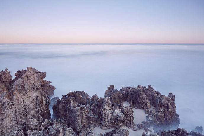 Rocks at Sunrise. Hammersley Pool. PSP-0013
