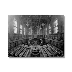 The House of Lords Chamber, 1905 Canvas