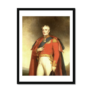 Arthur Wellesley, Duke of Wellington Framed Print