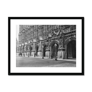 New Palace Yard with a policeman, c.1905 Framed & Mounted Print