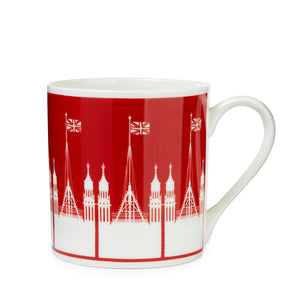 Fine Bone China Victoria Tower Mug