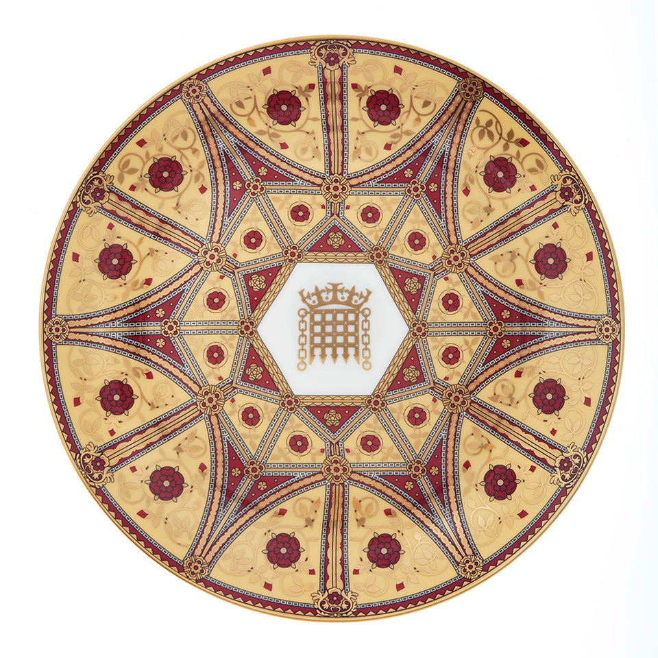 House of Lords Fine Bone China Plate