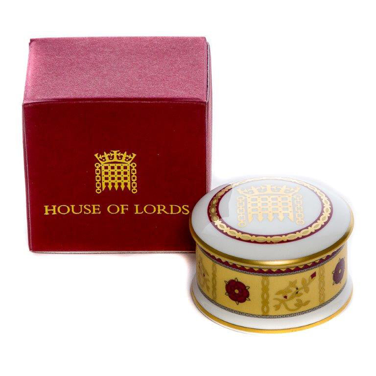 House of Lords Fine Bone China Trinket Box featured image