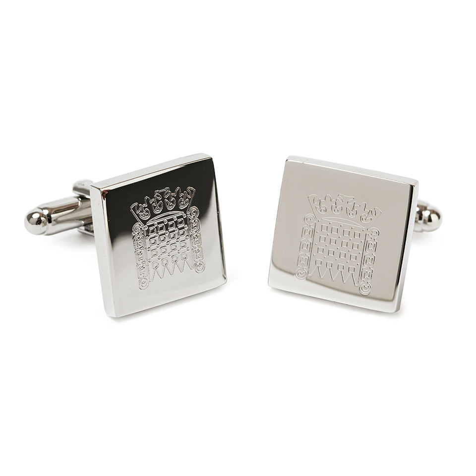 Silver Plated House of Lords Cufflinks featured image