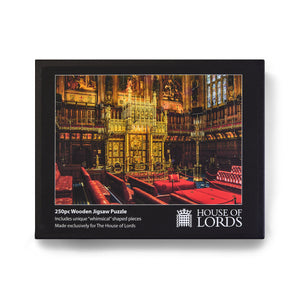 House of Lords Wooden Chamber Puzzle