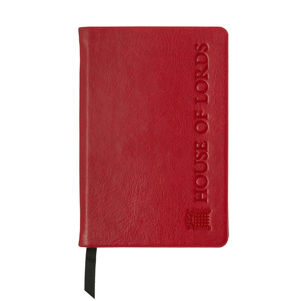 A6 House of Lords Notebook featured image