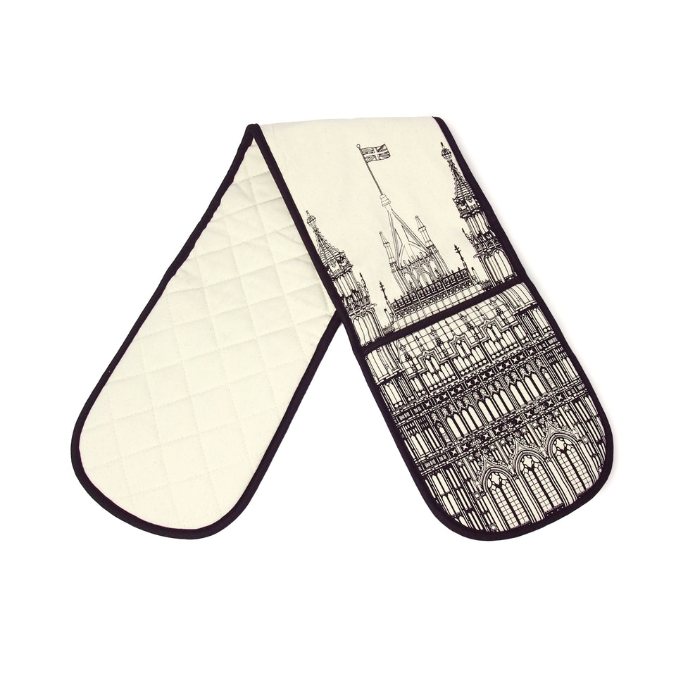 House of Lords Victoria Tower Sketch Oven Gloves featured image