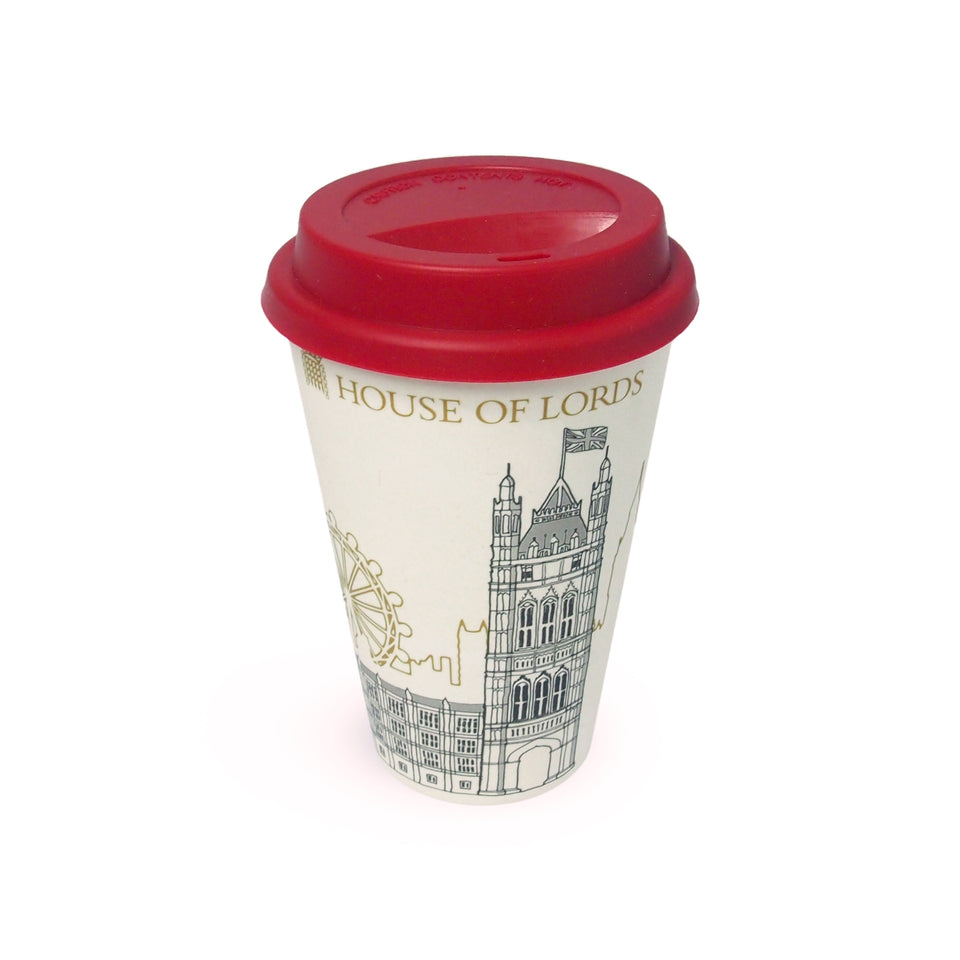 House of Lords Victoria Tower Travel Mug featured image