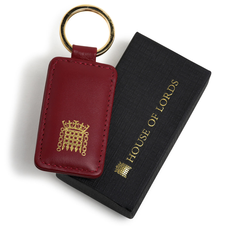 House of Lords Leather Keyring featured image