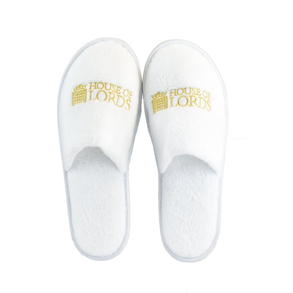 House of Lords Velour Slippers featured image