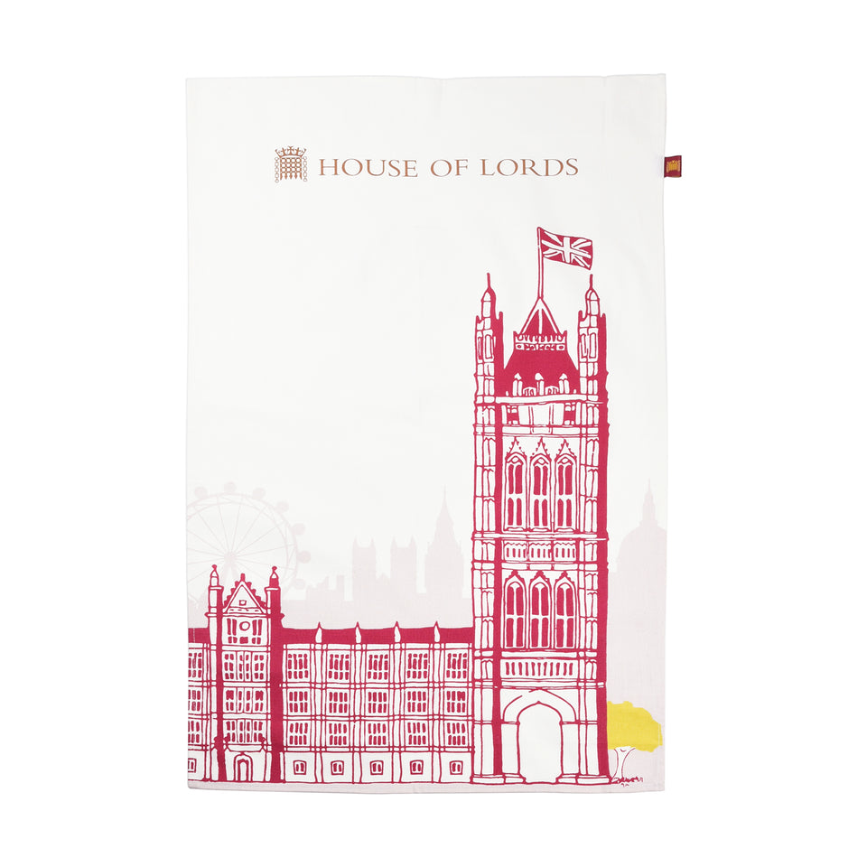 House of Lords Victoria Tower Tea Towel featured image