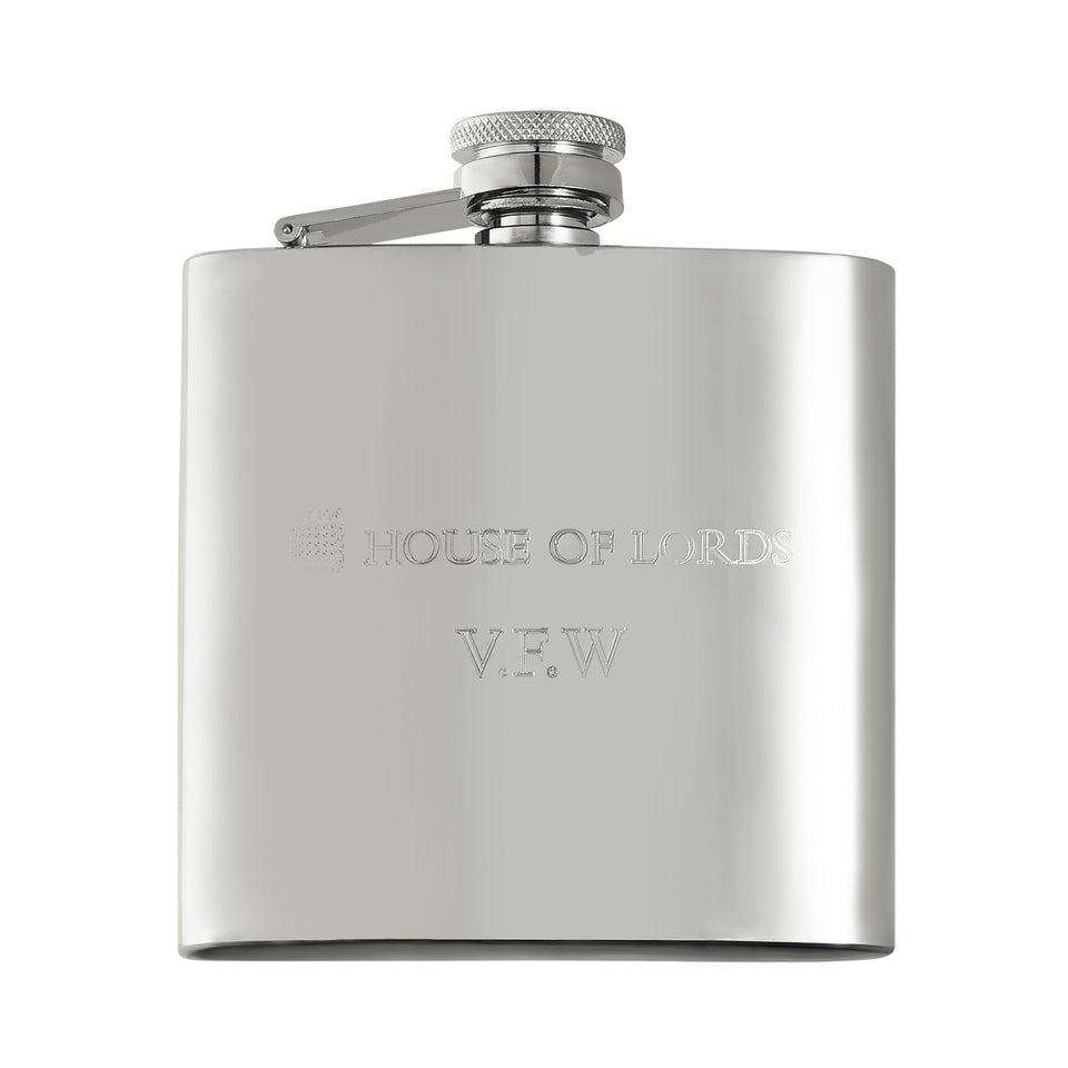 Personalised House of Lords Hip Flask featured image