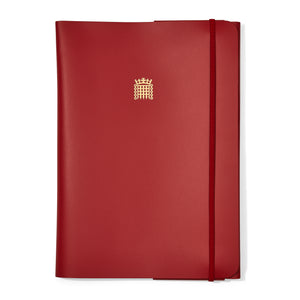 A4 House of Lords Leather Folder