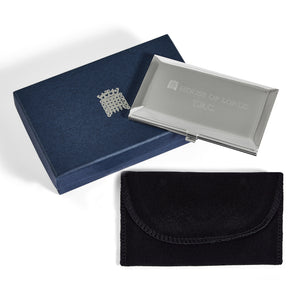 Personalised House of Lords Business Card Holder