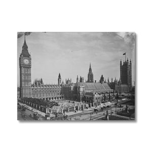 Houses of Parliament from Parliament Square, c.1905 Canvas