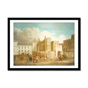 Old Palace Yard about 1760 Framed Print