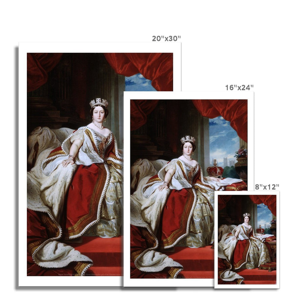 Queen Victoria Fine Art Print featured image