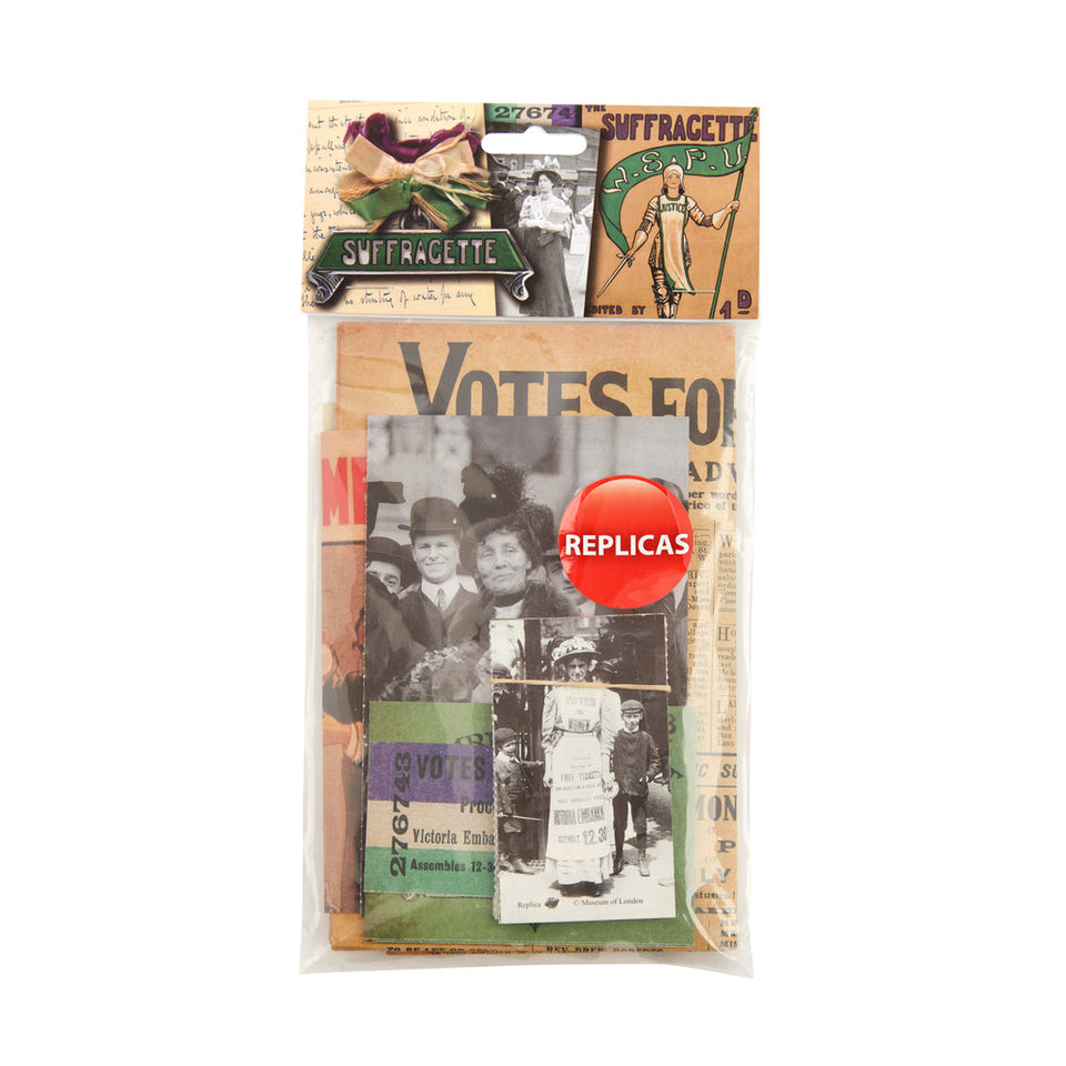 Suffragette Memorabilia pack featured image