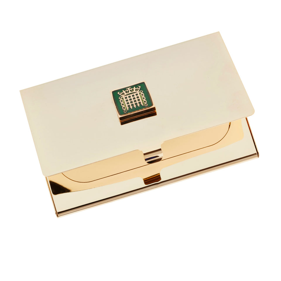 Brass Business Card Holder featured image