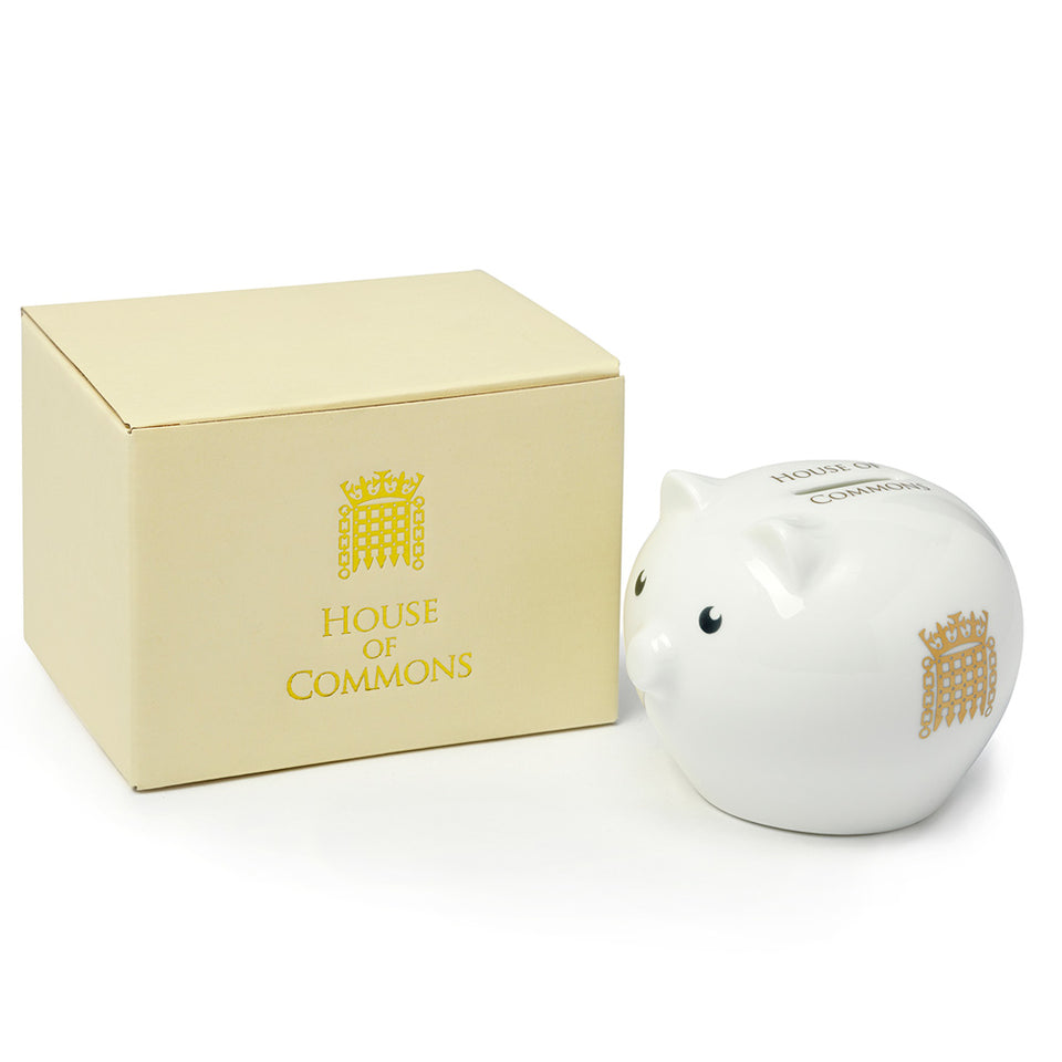 Fine Bone China Piggy Bank featured image