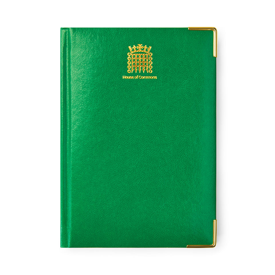 A5 House of Commons Notebook featured image
