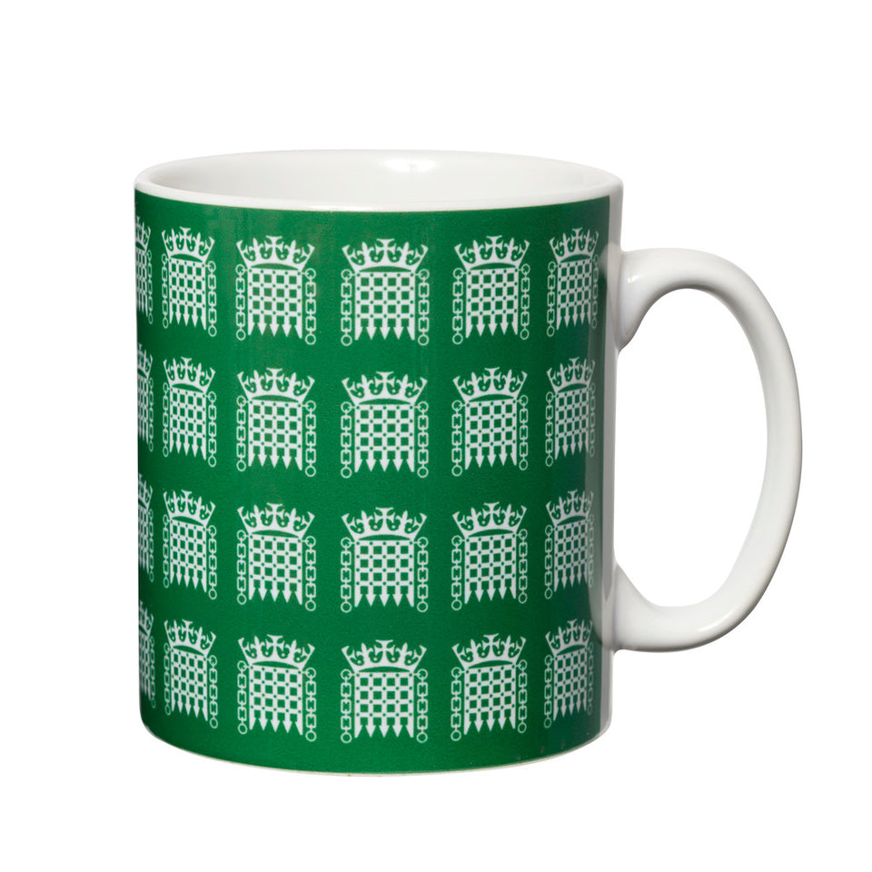 Green Portcullis Mug featured image