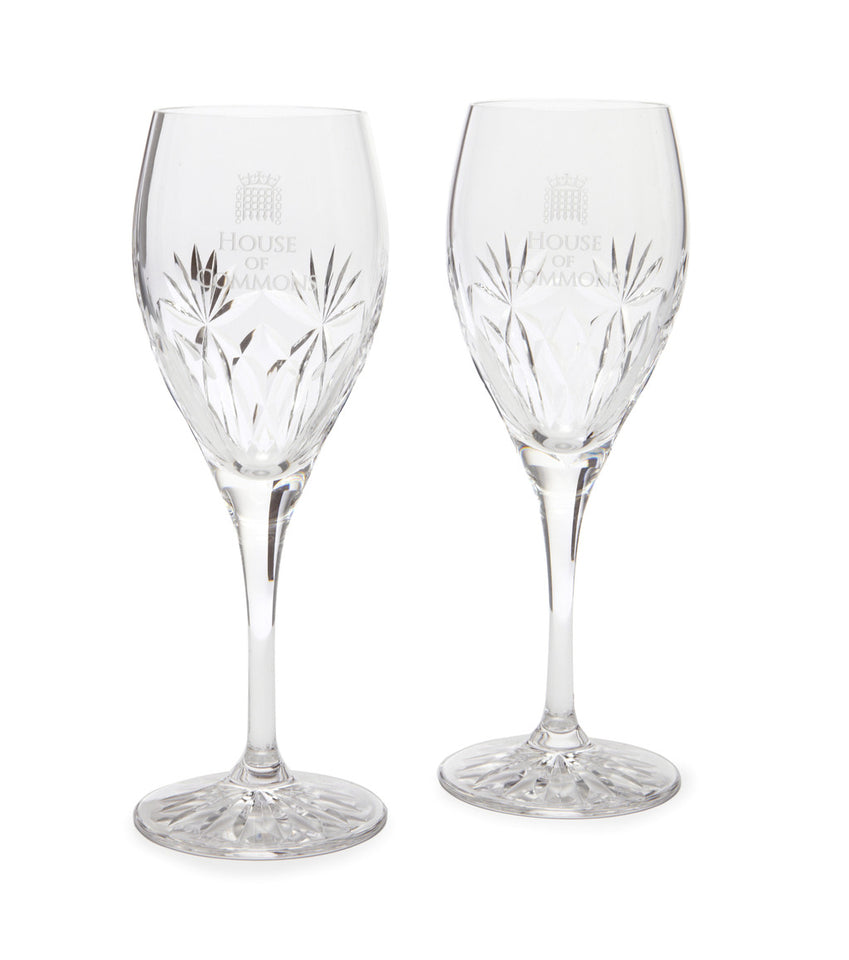 Set of Royal Scot Kintyre Crystal Port Glasses featured image