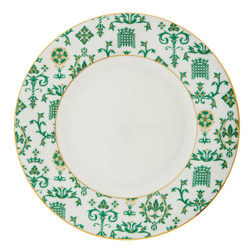 Fleur-de-Lys Fine Bone China Dinner Plate featured image