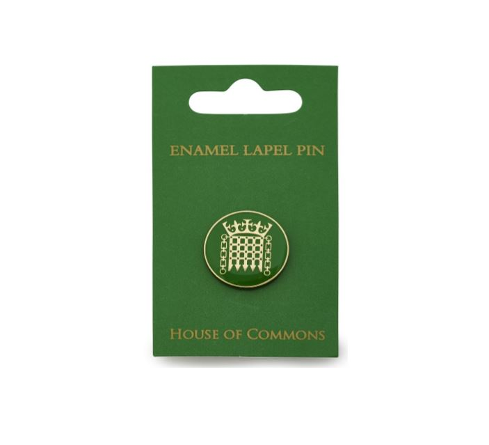 Portcullis Enamel Lapel Pin featured image