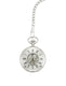 Chrome Plated Half Hunter Pocket Watch image 1