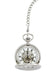 Chrome Plated Half Hunter Pocket Watch image 2
