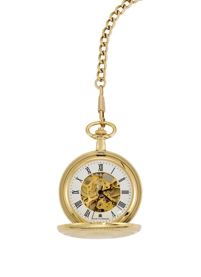 Gold Plated Full Hunter Pocket Watch featured image