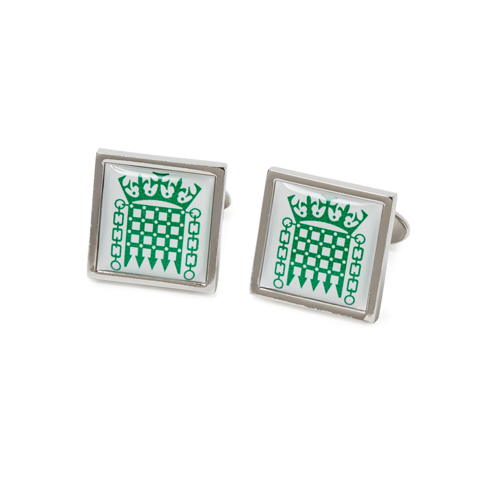 Square Portcullis Cufflinks