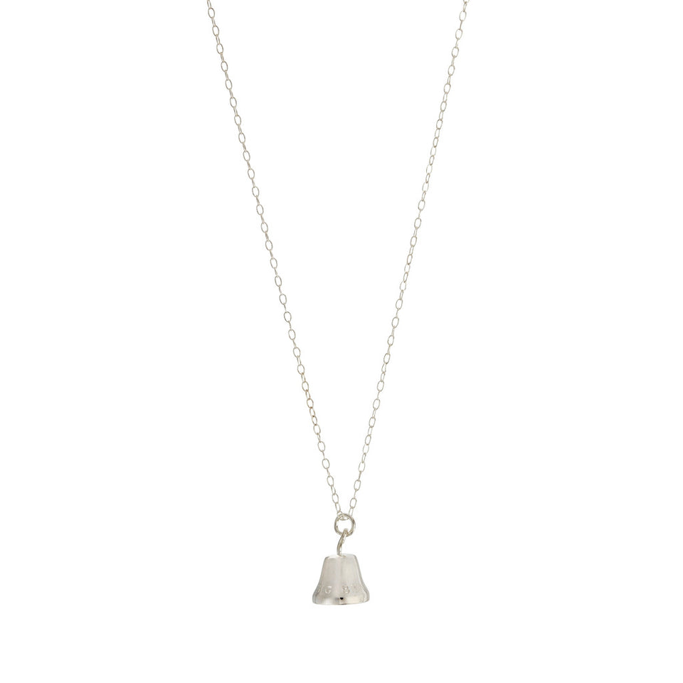 Sterling Silver Big Ben Bell Necklace featured image